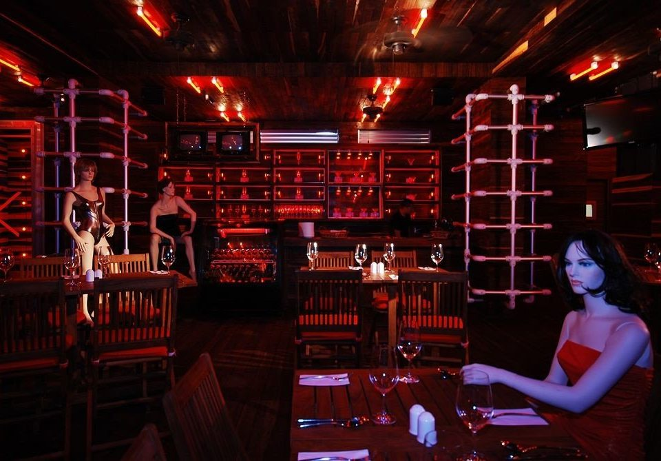 Adult-only Bar Dining Drink Eat Nightlife Play Romantic nightclub stage music venue