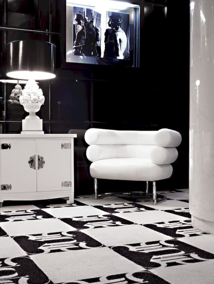 Adult-only Bedroom Boutique City Suite white black black and white living room monochrome flooring monochrome photography