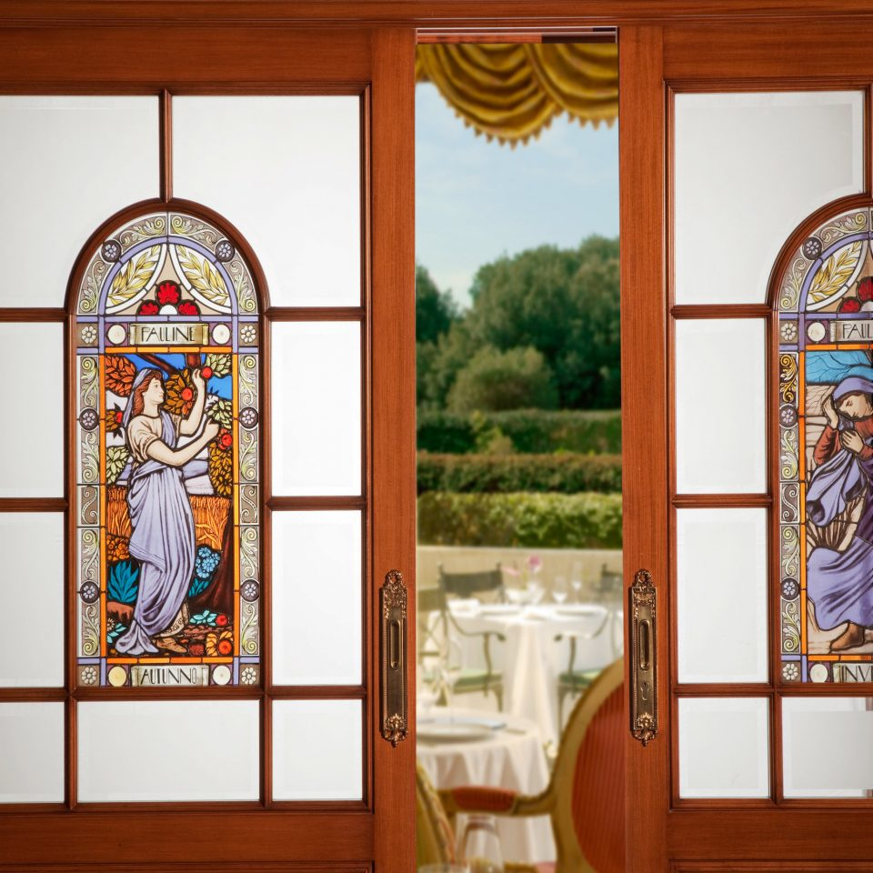 Adult-only City Classic Patio building glass stained glass mural house home art door altar arch material