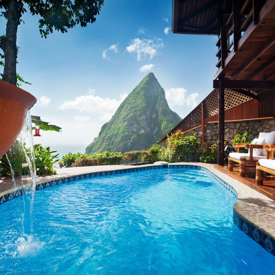 Adult-only Honeymoon Hotels Luxury Luxury Travel Play Pool Resort Romance Scenic views sky water swimming pool leisure resort town Villa backyard swimming