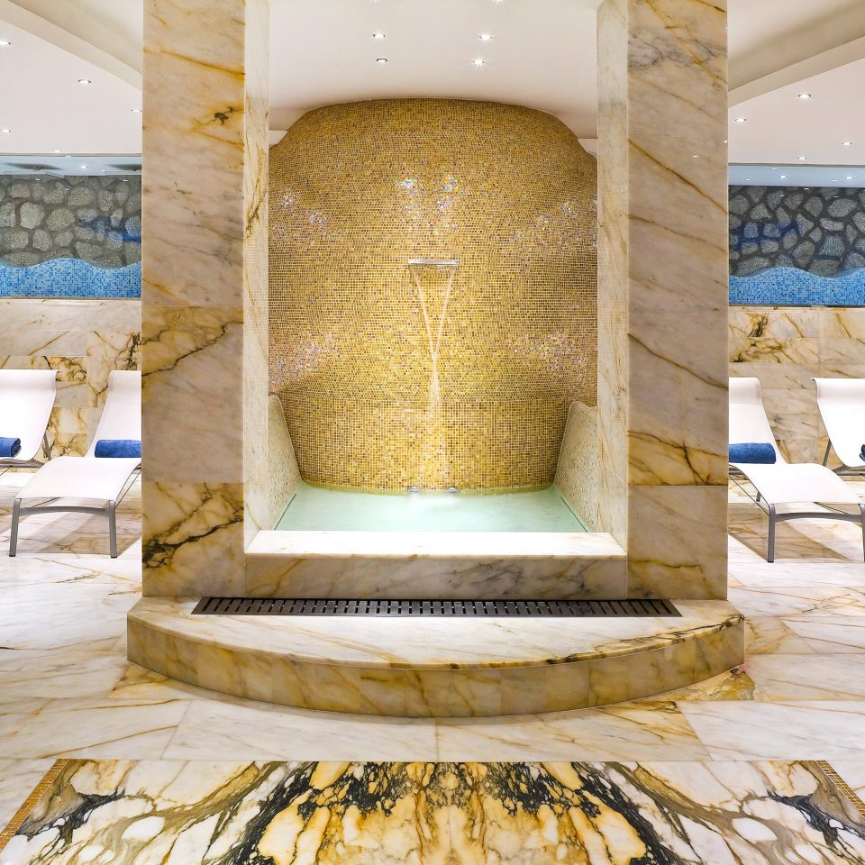 Adult-only Luxury Spa Villa Wellness Lobby flooring ancient history stone