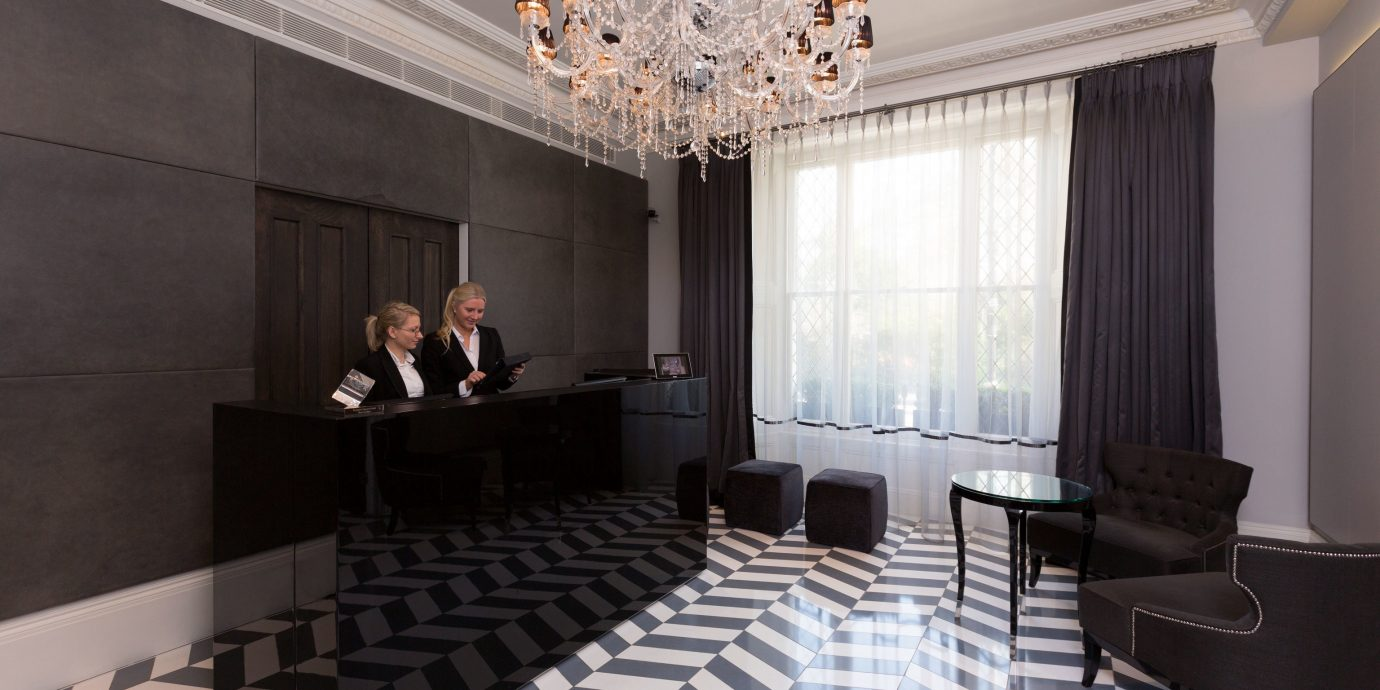 Adult-only Lobby Modern property living room auditorium conference hall