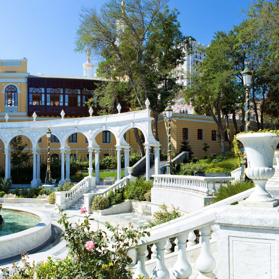 Adventure Architecture Buildings Cultural Outdoor Activities tree building plaza palace town square mansion Courtyard government building Garden stone colonnade