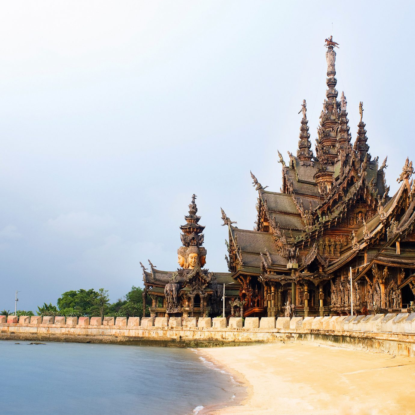 Adventure Architecture Buildings Cultural Landmarks Monuments Waterfront sky landmark building place of worship tower temple pagoda wat palace hindu temple ancient history