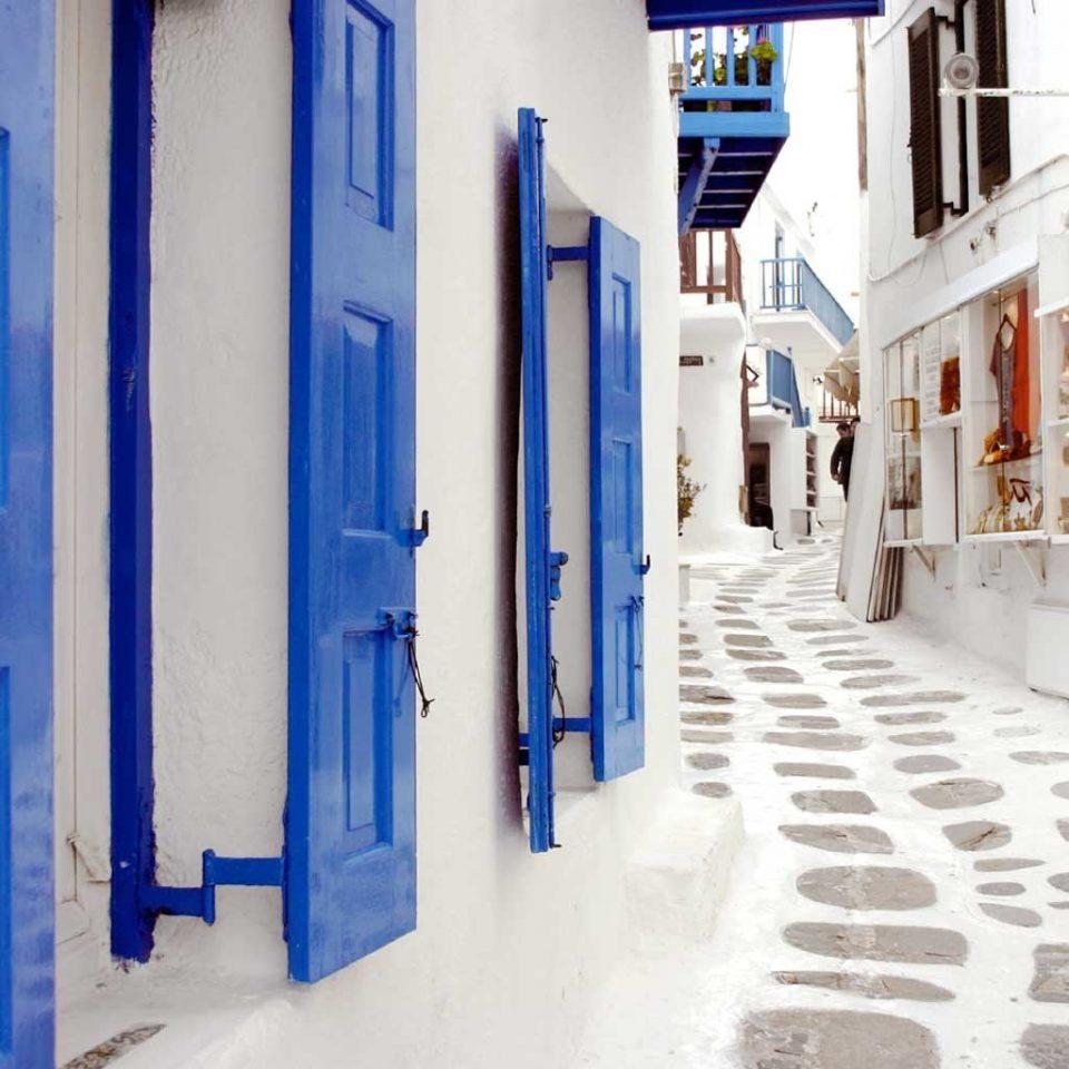 Adventure Architecture Buildings Cultural Exterior Scenic views color blue white art hall