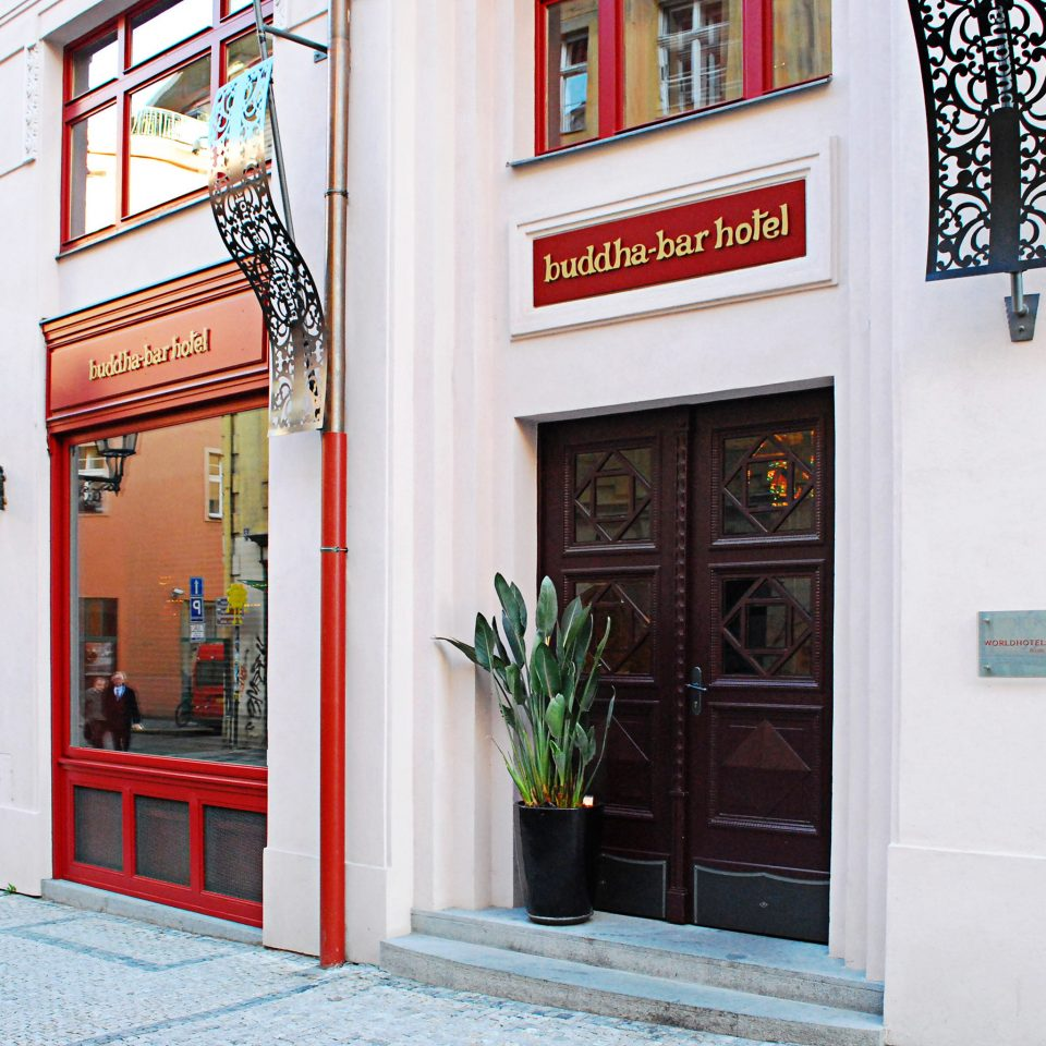 Adventure Architecture Buildings Eat Exterior Play Shop building color red street restaurant
