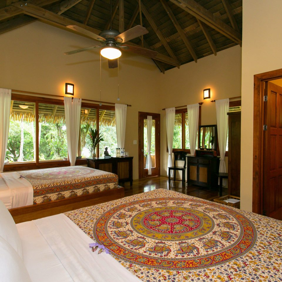 Adventure Bedroom Eco Jungle Outdoor Activities Rustic Wellness property Resort Villa Suite mansion home cottage