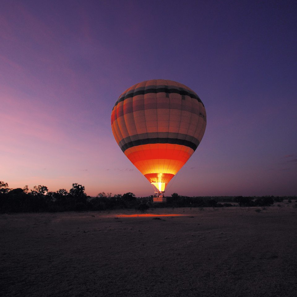 Adventure Country Lodge Outdoor Activities Romantic Safari sky balloon aircraft transport hot air ballooning Hot Air Balloon vehicle atmosphere atmosphere of earth Sunset dusk toy