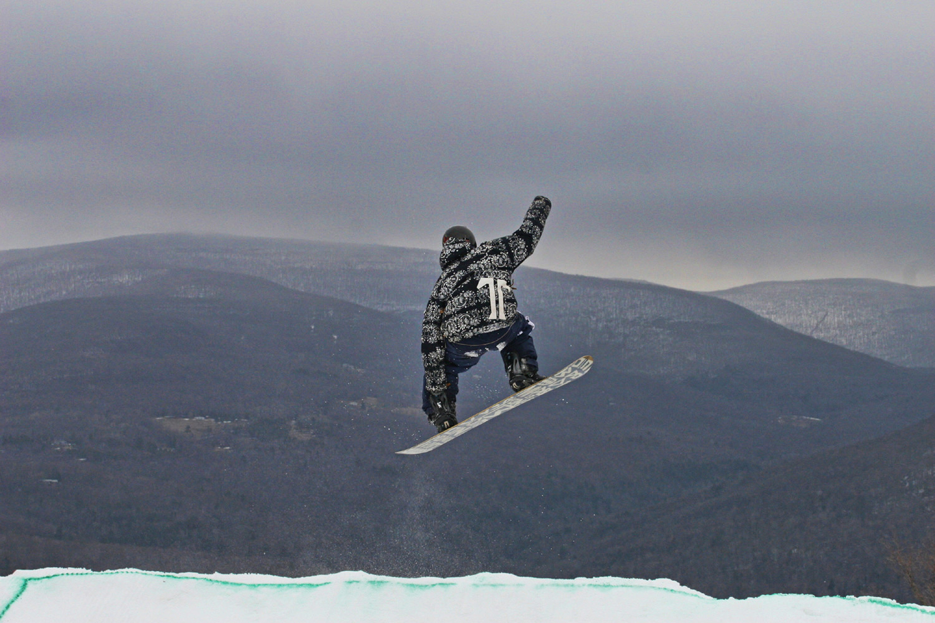 Adventure Country Scenic views Sport sky mountain snowboarding snow snowboard air weather Winter winter sport sports jumping boardsport atmosphere of earth hill extreme sport freestyle skiing summit sports equipment high day