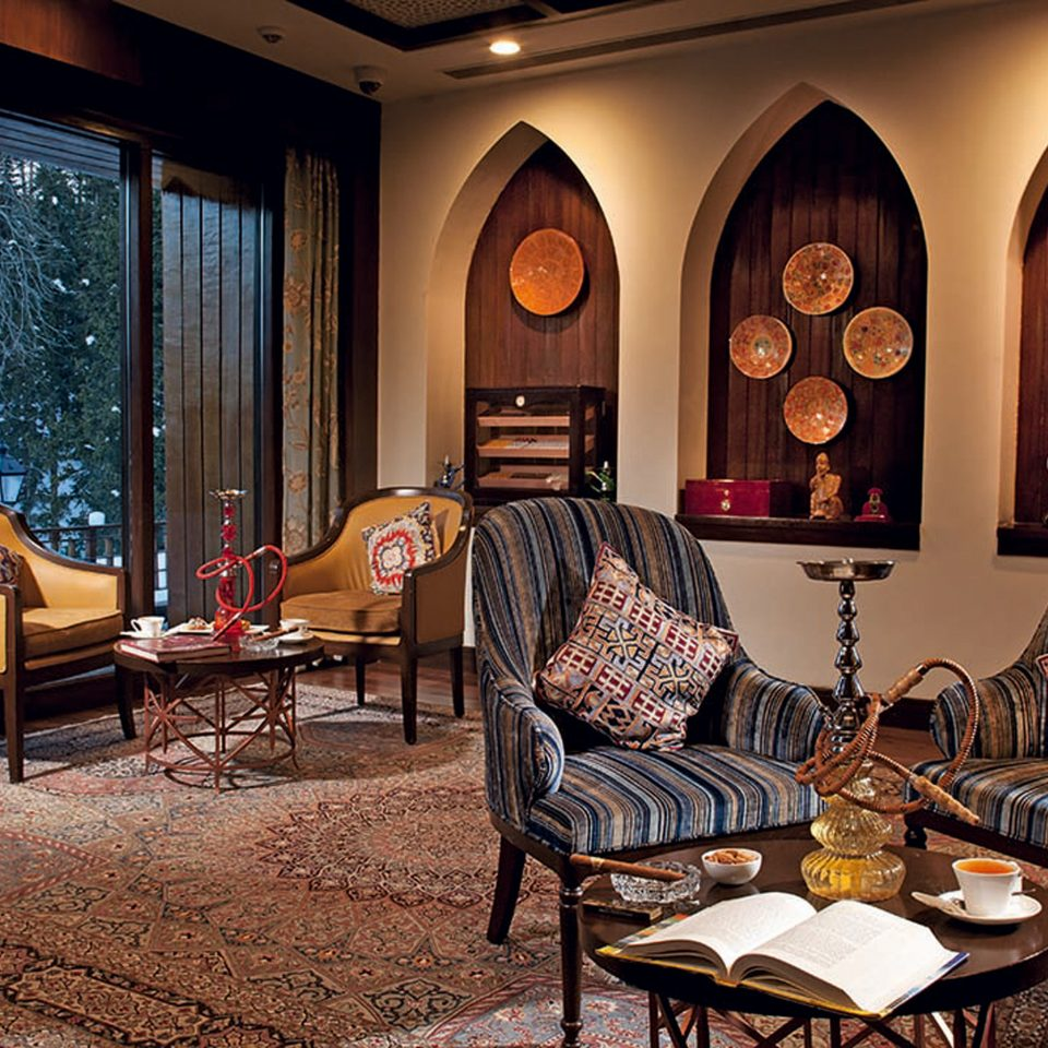 Adventure Cultural Elegant Lobby Lounge Mountains Scenic views Ski home living room restaurant