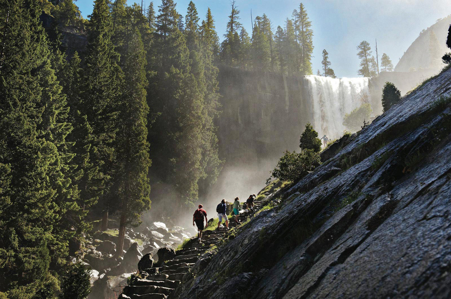 Adventure Family Travel Forest Mountains National Parks Natural wonders Nature Outdoor Activities Outdoors Parks Play Scenic views Sport Trip Ideas tree Waterfall wilderness atmospheric phenomenon geological phenomenon River water feature mountain cliff mountain range terrain walking hillside