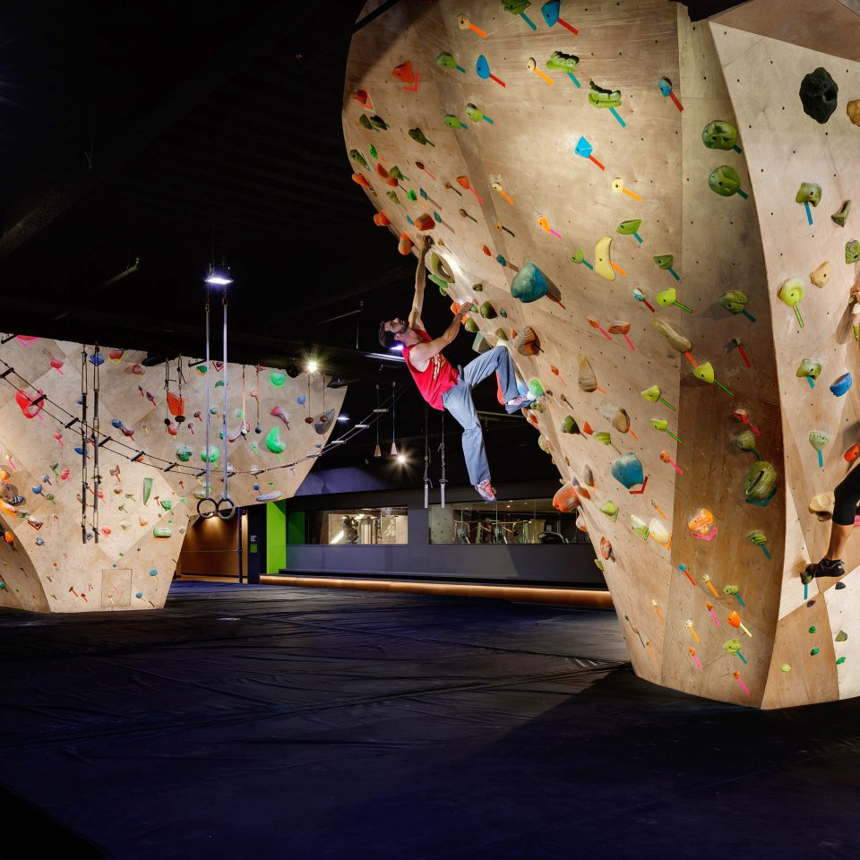 Adventure Fitness Resort Sport Wellness color outdoor recreation art shape recreation bouldering colorful night