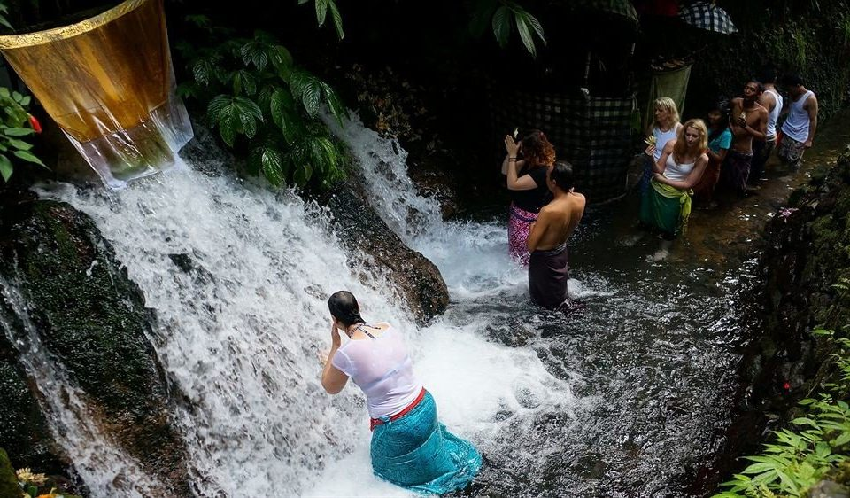 Waterfall water Nature water feature Adventure Jungle park