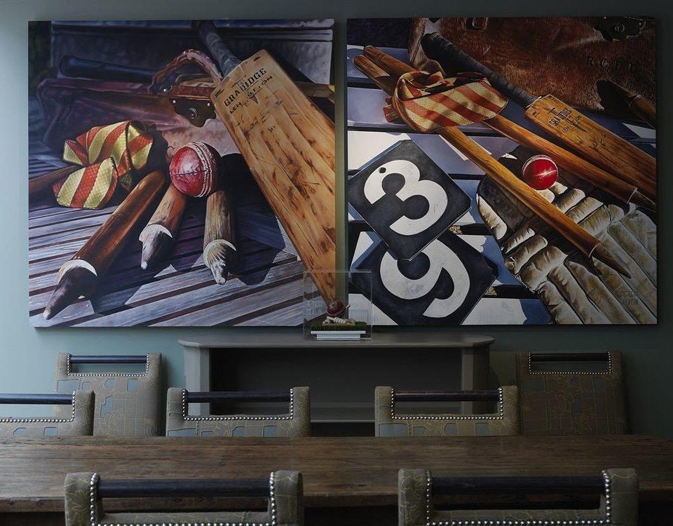 modern art art mural painting wooden advertising