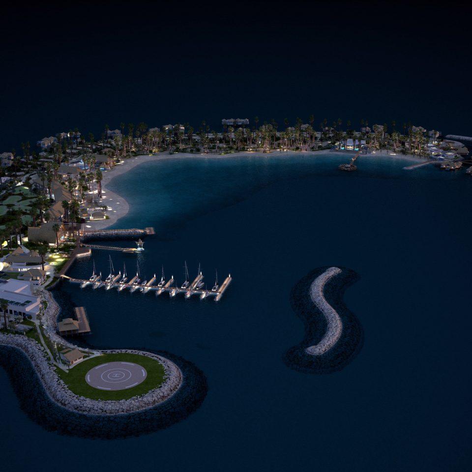 night crocodilian reptile atmosphere of earth aerial photography screenshot computer wallpaper stadium earth
