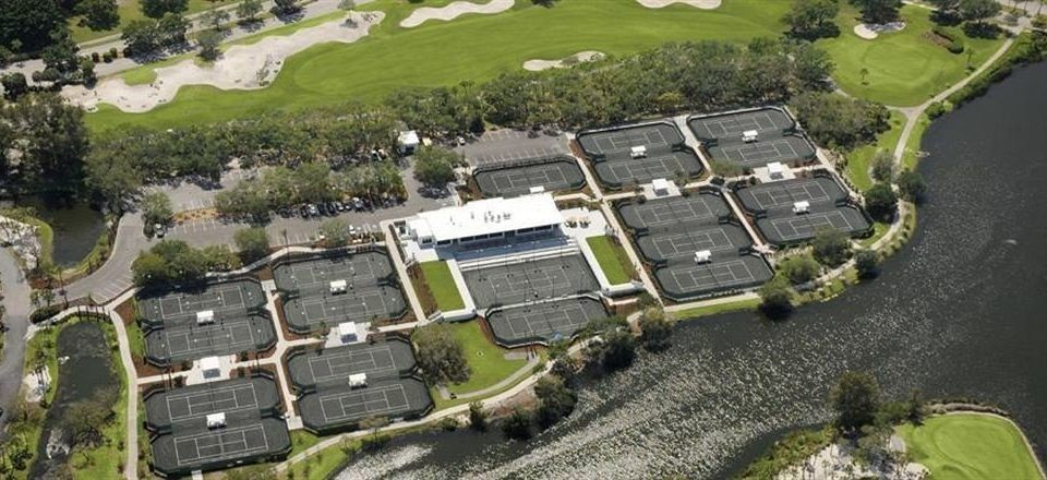 grass bird's eye view aerial photography residential area structure suburb sport venue urban design mansion stadium waterway