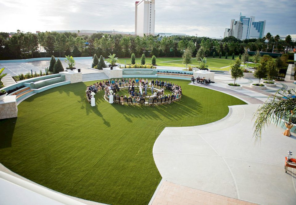 sky grass leisure structure sport venue swimming pool stadium aerial photography town square park