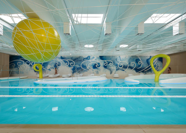 swimming pool leisure leisure centre sport venue inflatable games aircraft