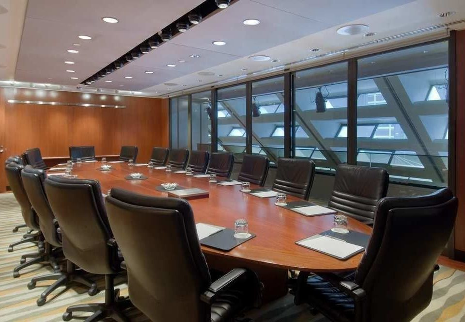 chair conference hall airline convention center auditorium meeting conference room restaurant dining table