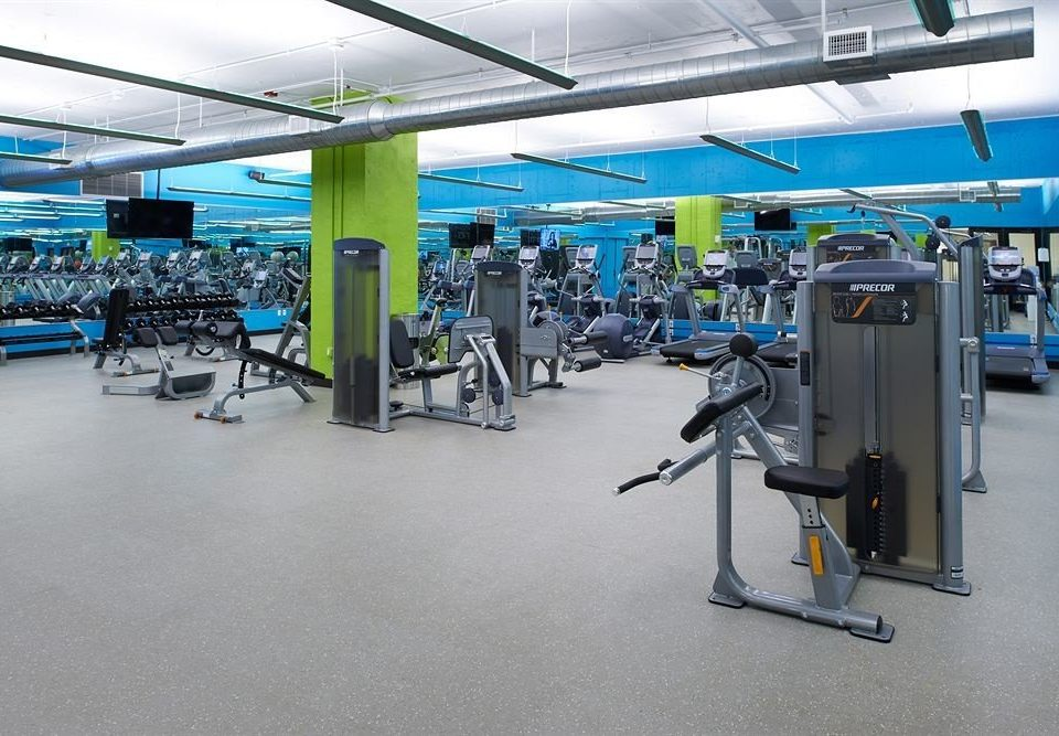 structure gym airport sport venue airplane