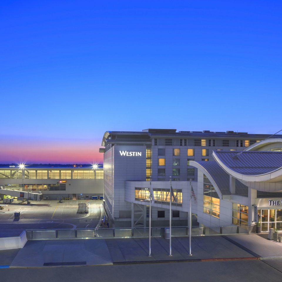 sky structure building sport venue stadium airport infrastructure arena convention center airport terminal