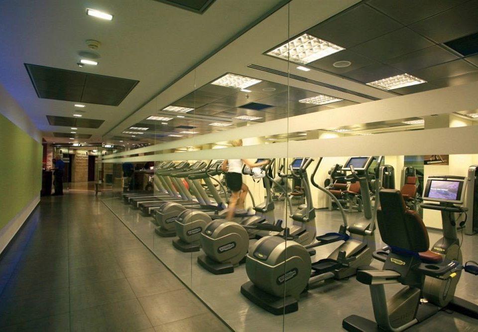 structure airport sport venue gym public transport