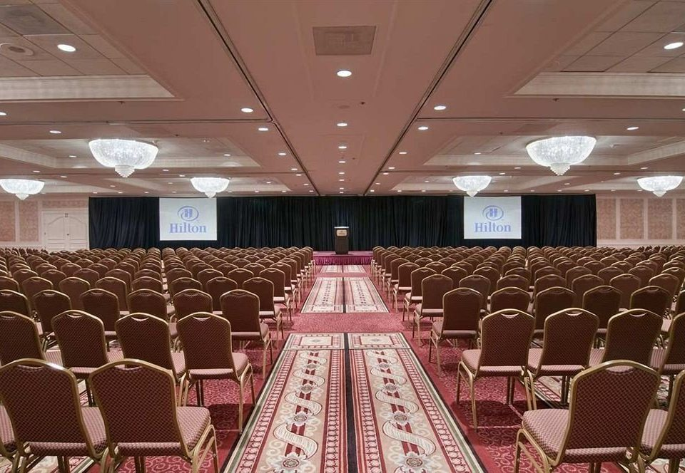auditorium function hall chair conference hall banquet ballroom convention center convention meeting aisle