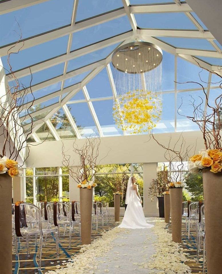 aisle building ceremony wedding flower wedding reception backyard