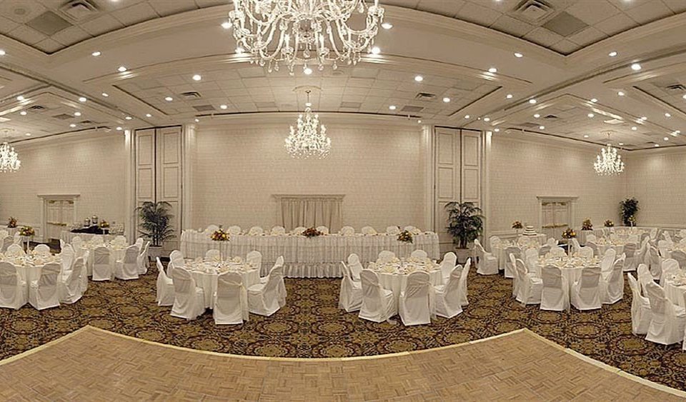 function hall aisle banquet ceremony wedding ballroom row wedding reception line bunch lined