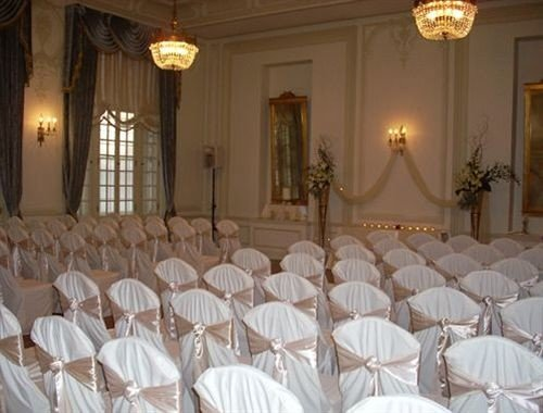 function hall banquet ballroom ceremony wedding wedding reception aisle palace mansion