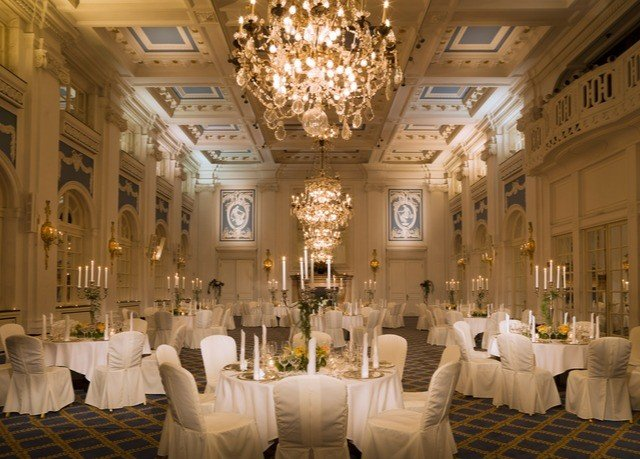 function hall aisle ballroom ceremony wedding palace banquet wedding reception mansion