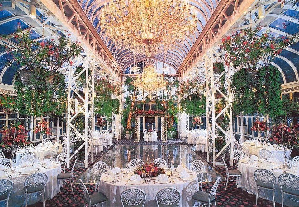 building aisle function hall wedding reception palace ballroom