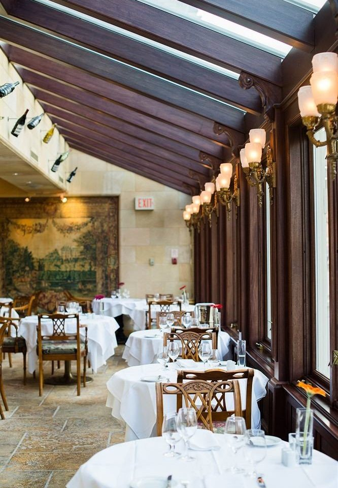 restaurant function hall wedding aisle wedding reception ballroom dining table