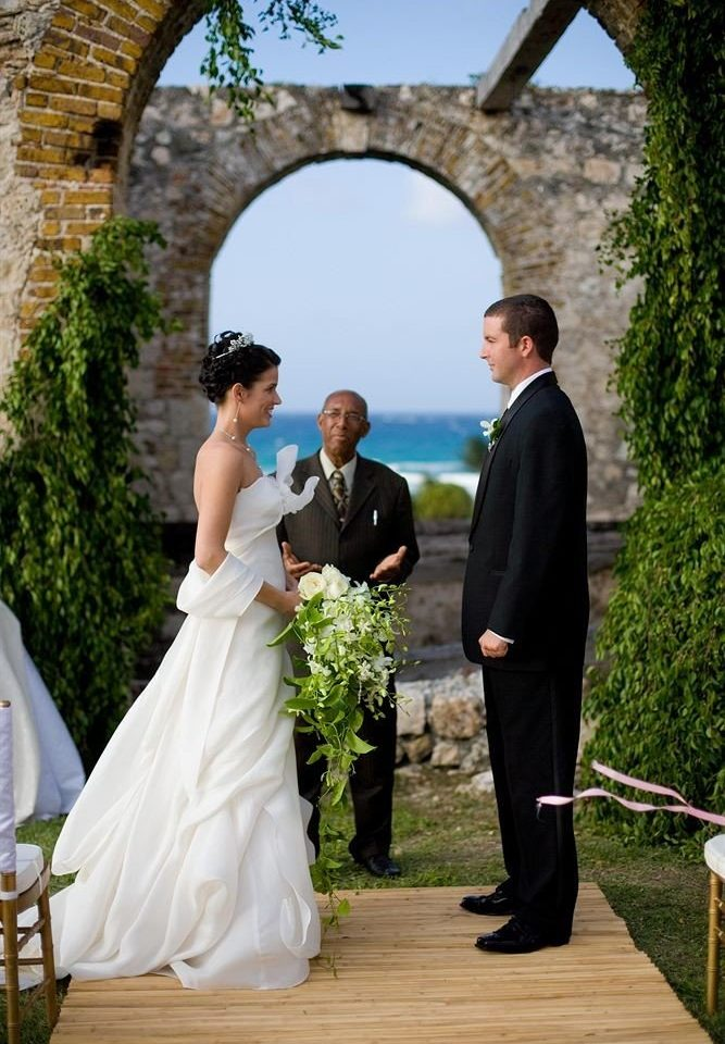 tree photograph bride wedding woman man ceremony groom event aisle stone