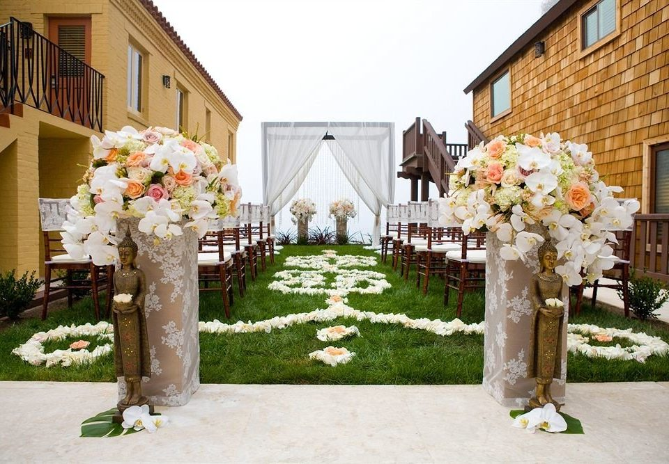 building grass fire aisle wedding ceremony flower flower arranging house floristry wedding reception floral design stone
