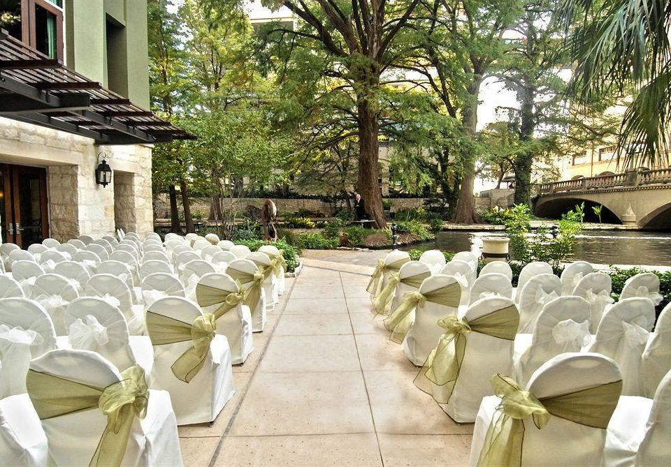 aisle wedding ceremony flower restaurant palace