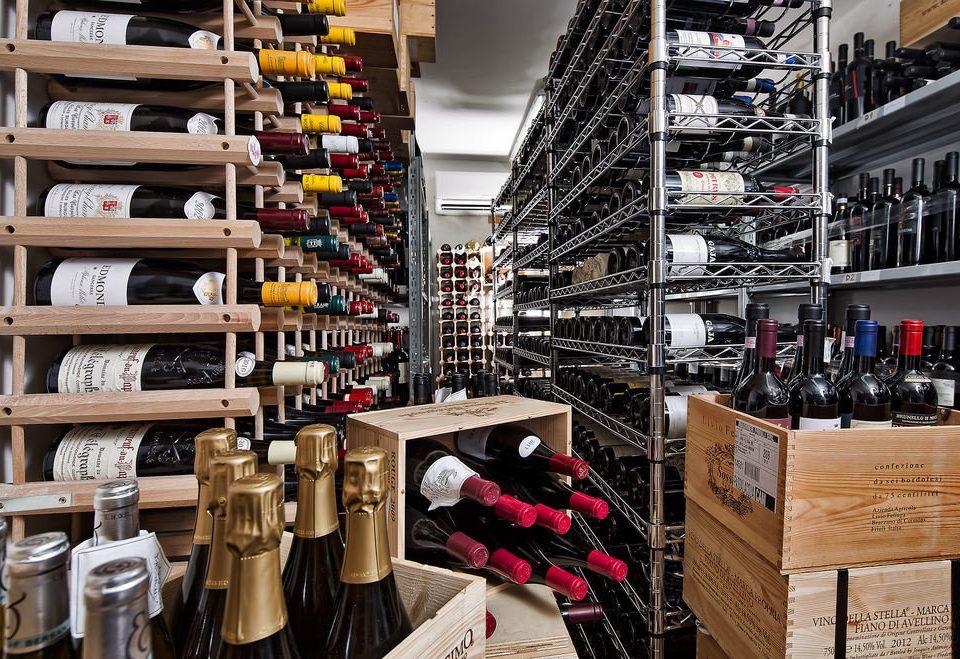 retail grocery store inventory aisle shopping shoe store liquor store shelf