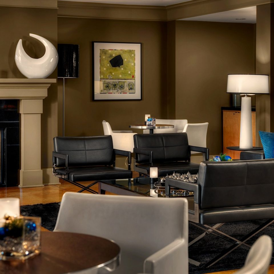 Alberta Boutique Hotels Canada Fireplace Hotels Inn Modern living room property home Suite recreation room