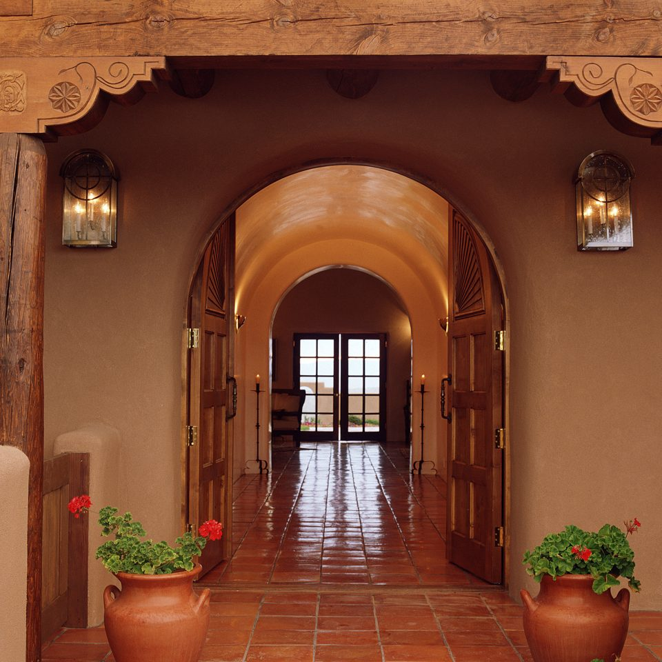 All-inclusive Country Cultural Lobby Mountains Romantic property arch Architecture living room home hacienda mansion hall palace