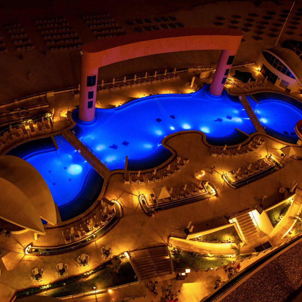All-inclusive Bar Beachfront Lounge Nightlife Patio Pool Resort night stage theatre amusement park music venue screenshot nightclub light