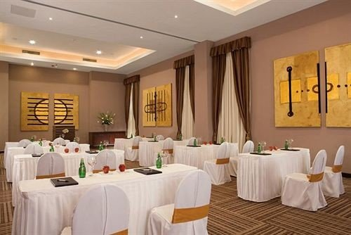 All-inclusive Bar Dining Drink Eat Hip Luxury function hall restaurant banquet white ballroom conference hall