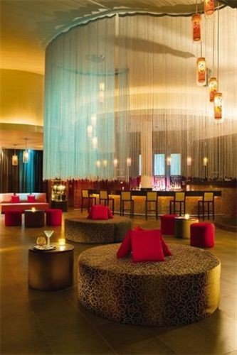 All-inclusive Bar Dining Drink Eat Hip Luxury Lobby function hall convention center ballroom restaurant Suite lamp