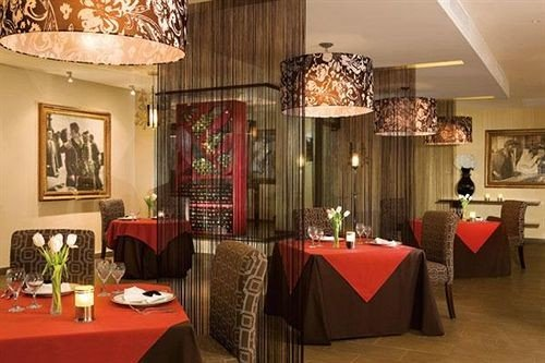 All-inclusive Bar Dining Drink Eat Hip Luxury restaurant red function hall Lobby