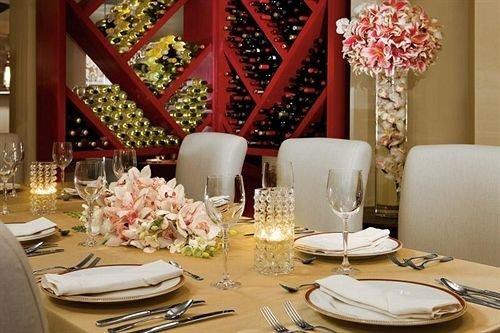 All-inclusive Bar Dining Drink Eat Hip Luxury plate restaurant banquet function hall centrepiece ballroom wedding reception dining table dinner set