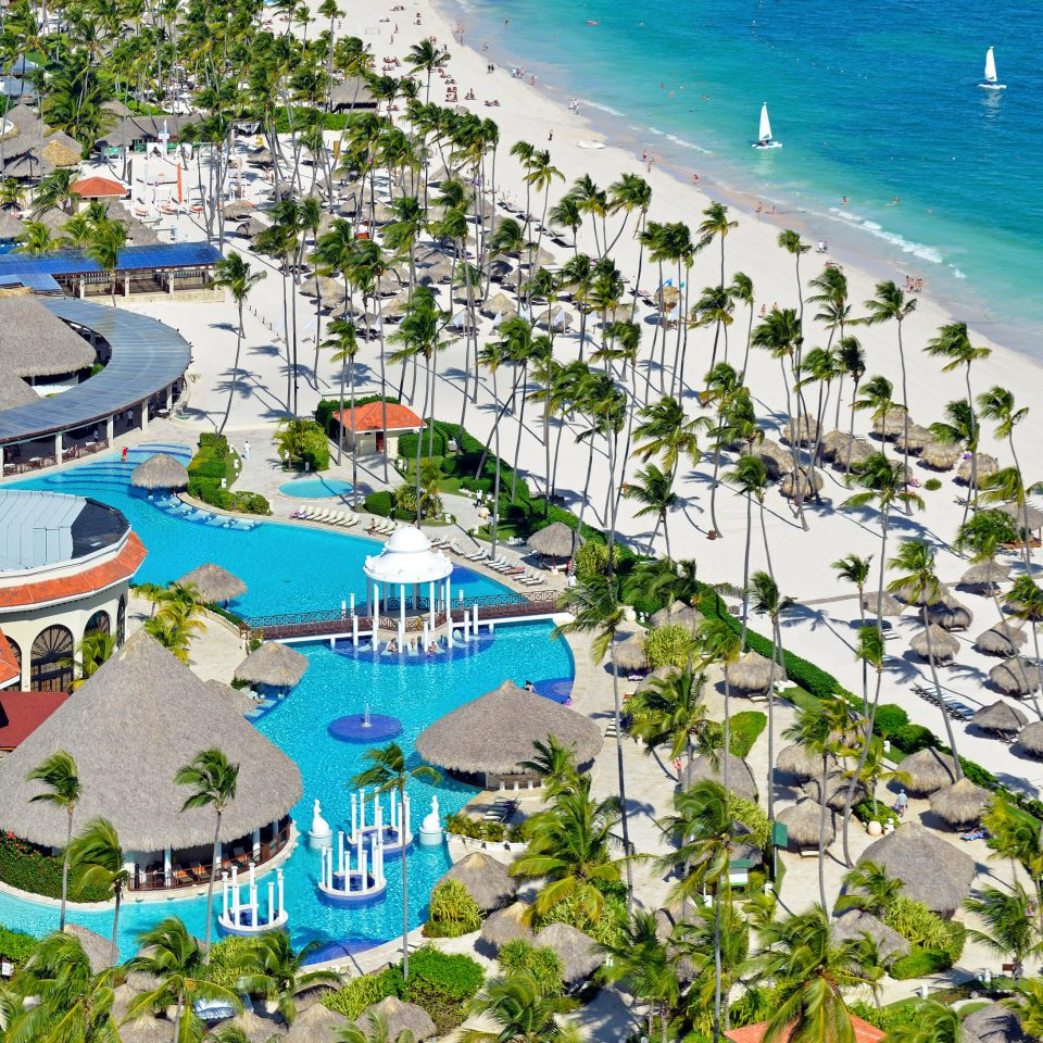 All-inclusive Beach Beachfront Exterior Family Luxury Pool Resort Romantic Scenic views Travel Tips Waterfront leisure Water park marina bird's eye view amusement park aerial photography park resort town residential area Coast dock Sea lined
