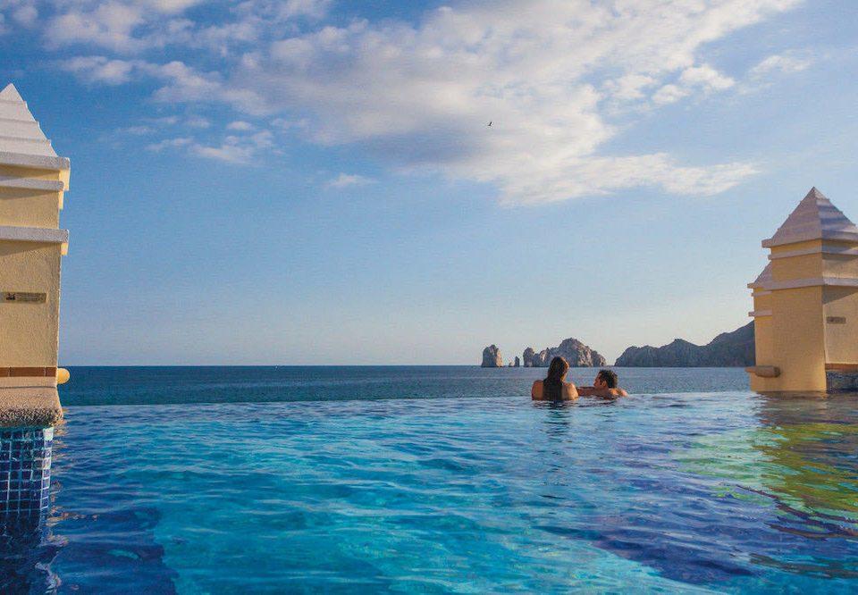 All-inclusive Budget Family Pool Resort Tropical water sky Sea Ocean Beach Coast tower cape Island blue caribbean swimming