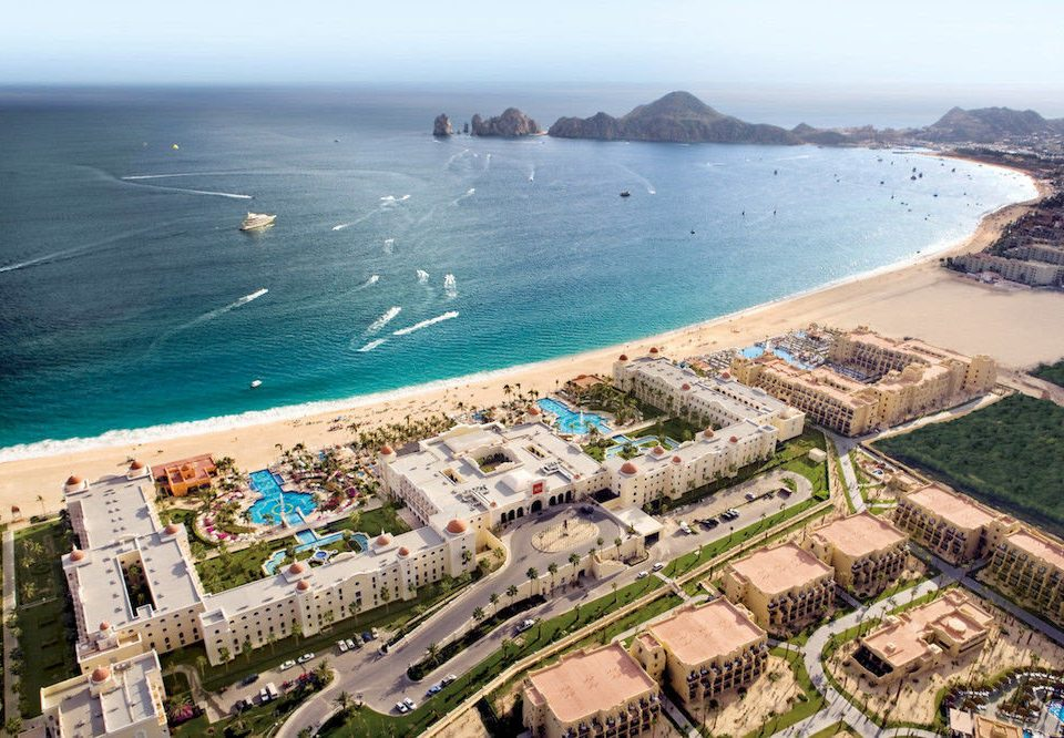 All-inclusive Beach Budget Family Pool Resort Tropical sky water aerial photography bird's eye view photography Coast Sea residential area cape marina dock port shore different
