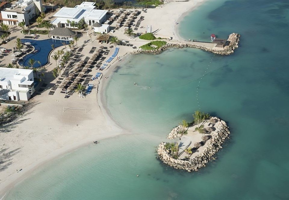 All-inclusive Beach Resort Scenic views Sea Nature aerial photography water Coast atmosphere of earth cape Island shore
