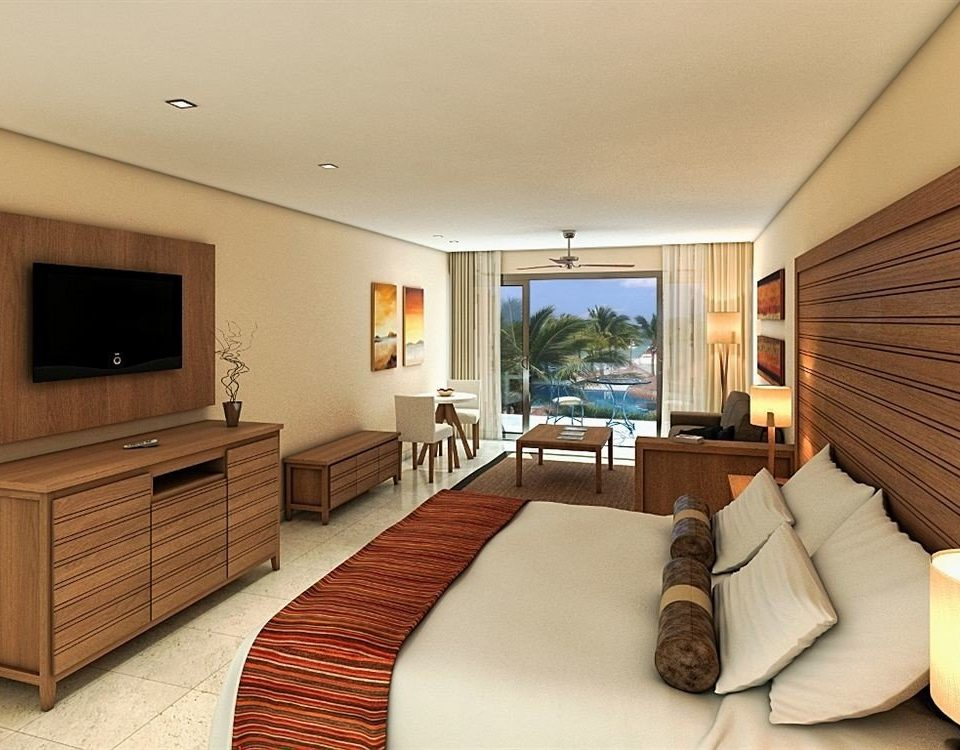 All-inclusive Beachfront Bedroom Modern Waterfront sofa property Suite living room condominium cottage Villa flat