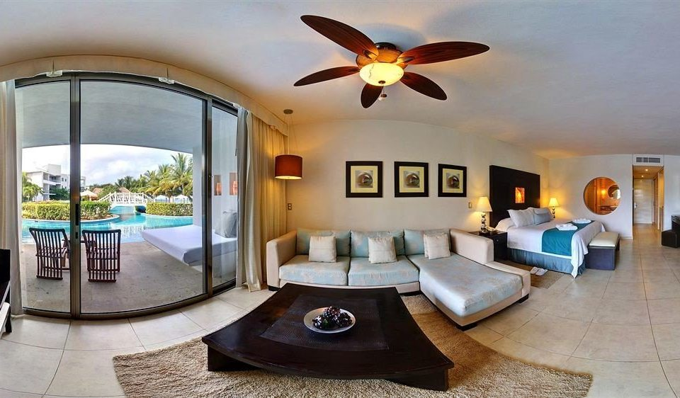 All-inclusive Beachfront Bedroom Modern Waterfront property home Villa living room Resort cottage condominium Suite hacienda mansion